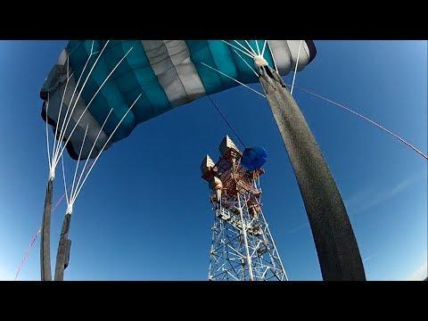 Antenna BASE Jumps