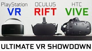 getlinkyoutube.com-PlayStation VR vs Oculus Rift vs HTC Vive - Which One is Best?