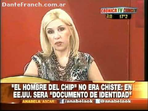Dante Franch con Anabela - EEUU implementa el Microchip obligatorio! 666 (Abril 2012)