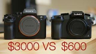 getlinkyoutube.com-$600 vs $3000 - Panasonic G7 vs Sony A7s2 - 4K Comparison