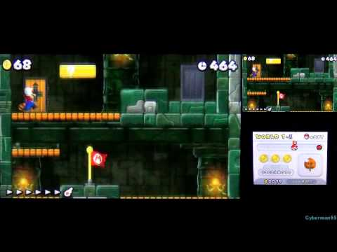 New Super Mario Bros. 2 - Part 1 ~ [World 1 - Secret Exit 1 - Boss: Roy Koopa]