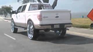 getlinkyoutube.com-2012 F150 King Ranch4x4 ecoboost 34 inch rims