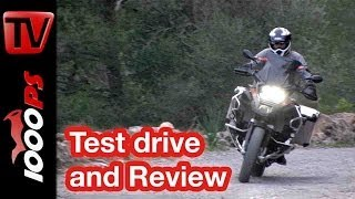 getlinkyoutube.com-BMW R 1200 GS Adventure 2014 | Review | Action, Onboard, Details