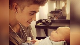 getlinkyoutube.com-Justin Bieber's Baby?