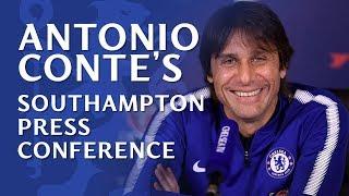 Chelsea v Southampton | Antonio Conte Press Conference