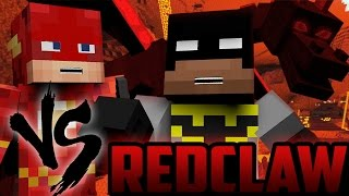 Minecraft: Batman and Flash vs RedClaw! (Minecraft Roleplay)