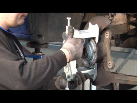 Универсальный набор для демонтажа компактных подшипников колес, V2860, Vigor