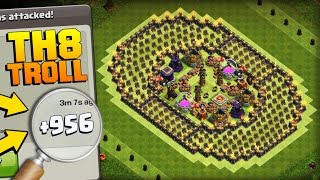 getlinkyoutube.com-Clash of Clans | PHENOMENAL TH8 TROLL BASE | The Colosseum | +900 CUPS IN 1 DAY!! COC GAMEPLAY 2017