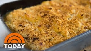 getlinkyoutube.com-Try Molly Yeh's Twist On Comfort Food: Smoky Bacon Mac And Cheese | TODAY