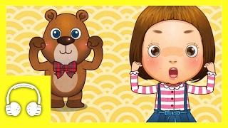 getlinkyoutube.com-Teddy Bear | Family Sing Along - Muffin Songs