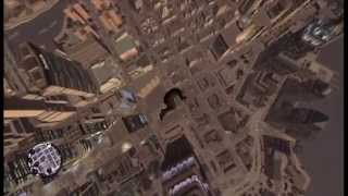 getlinkyoutube.com-GTA 4 : Fall from the highest point and survive