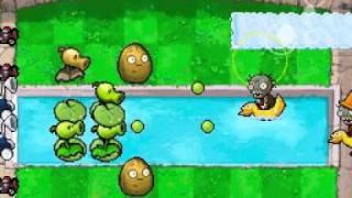 getlinkyoutube.com-Plants vs Zombies DS: Heat Wave Gameplay