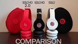 getlinkyoutube.com-Old Beats Solo HD 2 vs Solo HD vs Solo - Comparison