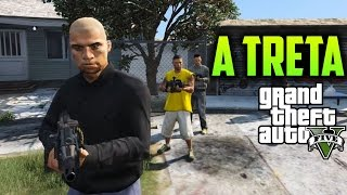 GTA V : TIROTEIO ENTRE GANGUES | MACHINIMA GuimarPlayer