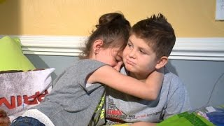 getlinkyoutube.com-8-Year-Old with Leukemia Finds True Love in Relationship with Classmate