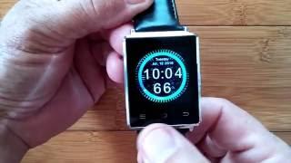 getlinkyoutube.com-No.1 D6 Android 5.1 Smartwatch: Fully Loaded Nova