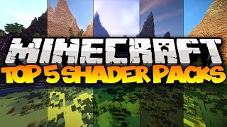 getlinkyoutube.com-TOP 5 MINECRAFT SHADER PACKS! - 2016 (Best Minecraft Shader Packs)