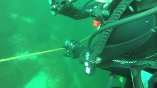 getlinkyoutube.com-Scuba Diving emergency, out of air in a fast current! St. Lawrence River