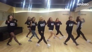getlinkyoutube.com-[HD] Twice - Like OoH-Ahh mirrored Dance Practice
