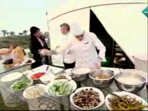 Royal Catering chef Eric Heurtel on AD Emarat TV  Gourmet Abu Dhabi festival