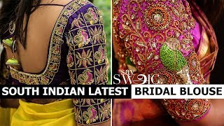 Tips For Choosing Blouse Design For Wedding | Say Swag