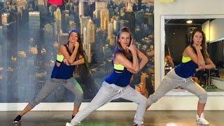 getlinkyoutube.com-Fun - Pitbull - Easy Fitness Dance  Choreography