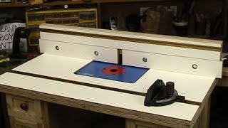 getlinkyoutube.com-Router table top and fence