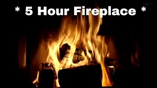 getlinkyoutube.com-5 Hour Fireplace Video in Full HD- Filmed in 4K Ultra HD