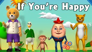 getlinkyoutube.com-If You're Happy and You Know it Clap Your Hands Song - 3D Animation Rhymes for Children