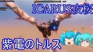 イカロスオンイラン 紫電のトルス ICARU夜桜