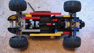 getlinkyoutube.com-LEGO Technic Drift RC Car + Tutorial 4WD