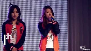 getlinkyoutube.com-APink Bomi covering Eunji's parts (윤보미)