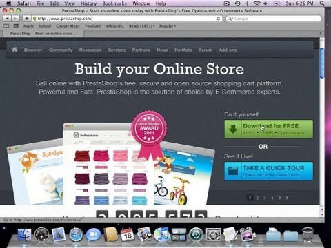 PrestaShop v1.5.2 Installation Guide, Hosted on Godaddy