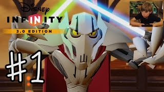 getlinkyoutube.com-Disney Infinity 3.0: INTRO + Twilight of the Republic #1 | GENERAL GRIEVOUS | KID GAMING