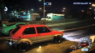Need for Speed 2015 | Golf 1 BEST DRAG RACE CAR!!!