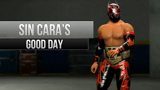 getlinkyoutube.com-WWE 2K14 Story - Sin Cara Good Day!