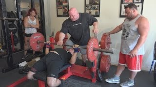 getlinkyoutube.com-Bench Press Instruction #4 - Scot Mendelson, Rich Piana, & Dave Hoff