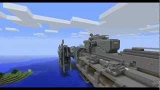 getlinkyoutube.com-Minecraft - Halo frigate