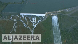 Mass evacuation ordered in California over dam collapse threat