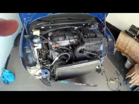 Ревизия радиаторов VW Caddy 1.9 BSU