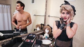 "getlinkyoutube.com-""Hung Up"": Male Superfan Spends $75,000 On Surgery To Look Like Madonna"