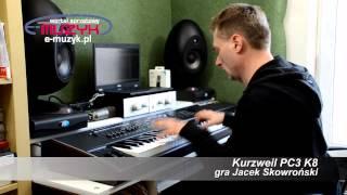 getlinkyoutube.com-Kurzweil PC3K8 demo Orchestral Sounds part 2 - gra Jacek Skowroński (test E-MUZYK.pl)