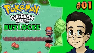 LEDGES OR BUMPS | Pokemon LeafGreen Nuzlocke, Part 1 - BGPR!