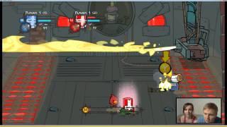 getlinkyoutube.com-Para Gra (Castle Crashers) #5 Pokonani