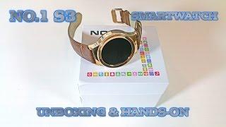 getlinkyoutube.com-NO.1 S3 Smartwatch - Unboxing & Hands-On