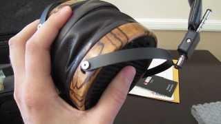getlinkyoutube.com-Audeze LCD-3 Headphone Unboxing and Review