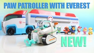 getlinkyoutube.com-Paw Patroller Toy Paw Patrol Toy Review with Everest Toy NEW!