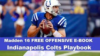 getlinkyoutube.com-FREE FULL OFFENSIVE E-BOOK - Colts Playbook - Madden 16