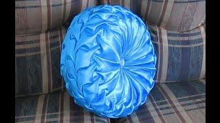 getlinkyoutube.com-DIY Canadian smocked round cushion