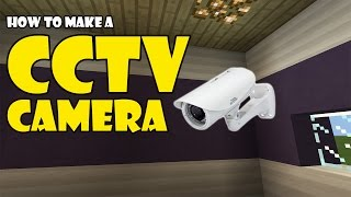 CCTV CAMERA tutorial | Minecraft PE (Pocket Edition) MCPE